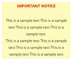 Styled Text Widget