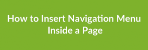 How to Insert Navigation Menu Inside a Page_image